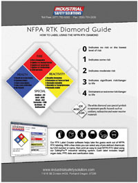 free NFPA RTK diamond guide