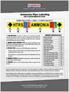 Ammonia Pipe Labeling Guide